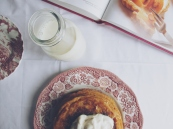 Sweet potato pancakes