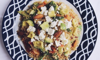 Quinoa superfood salad